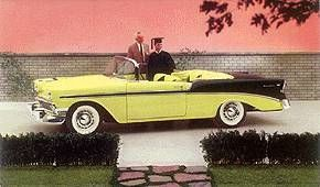 1956 Datos de Chevrolet Convertible